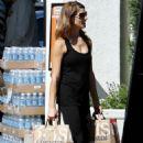 Ashley Greene Shopping At Bristol Farms In La