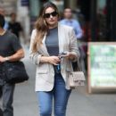 Kelly Brook – Arriving at Global Offices in London