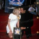 Claudia Schiffer and David Copperfield