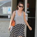 Rachel Bilson's Black & White Lunch Date