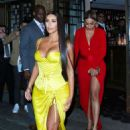 Kim Kardashian out for dinner at Chinese Tuxedo in NY - 454 x 698