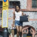 Naomie Harris – Out in North London - 454 x 560