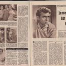 James Dean - Mein Film Magazine Pictorial [Austria] (20 July 1956) - 454 x 312