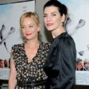 Julianna Margulies and Samantha Mathis – 'The Seagull' Premiere in New York - 454 x 667