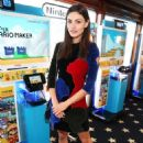 Phoebe Tonkin - The Nintendo Lounget Comic-Con International 2015