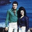 Priscilla Presley and Elvis Presley - 362 x 594