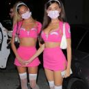 Madison Beer – In a trauma Halloween costume at Catch in West Hollywood