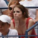 Anna Kendrick and Brittany Snow watch 2019 US Open in NYC - 454 x 332