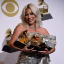 Lady Gaga At The 61st Annual Grammy Awards 2019 - Press Room