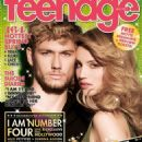 Dianna Agron, Alex Pettyfer - Teenage Magazine Cover [Singapore] (March 2011)