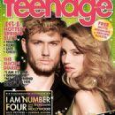 Dianna Agron, Alex Pettyfer - Teenage Magazine Cover [Singapore] (March 2011)