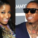 Lil Wayne and Antonia Carter - 454 x 255