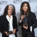 Aerosmith attends The Songwriters Hall Of Fame 44th annual Induction at the NY Marriott Marquis on June 13, 2013 - 454 x 332