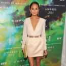 Chrissy Teigen 2014 Fragrance Foundation Awards In Nyc