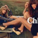 Lou Doillon & Julia Stegner for Chloe 2014 Ad Campaign