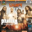 Rex Brown, Dimebag Darrell, Vinnie Paul, Phil Anselmo - Legacy Magazine Cover [Germany] (February 2014)