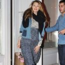 Blake Lively Leaving The Louboutin Store In Nyc