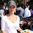 KaDee Strickland Thanksgiving Dinner-in-the-Park 2009