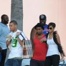 Rihanna And Chris Brown Out Shopping On Melrose (August 4 2008)