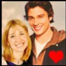 Tom Welling and Allison Mack