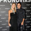 Julio Iglesias Jr. And Charisse Verhaert At 'Pronovias' Barcelona Bridal Week.
