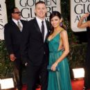 Jenna Dewan-Tatum arrives at the 69th Annual Golden Globe Awards held at the Beverly Hilton Hotel on January 15, 2012 in Beverly Hills