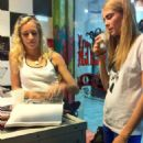 Cara Delevingne At Tattoo Parlor In Brazil