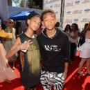 Willow Smith (L) and actor Jaden Smith arrive at the 2012 BET Awards at The Shrine Auditorium on July 1, 2012 in Los Angeles