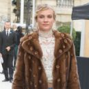 Diane Kruger – Arrives at the Valentino Show – Paris Fashion Week 10/2/2016