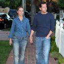 Jennifer Love Hewitt - Walking Near Her Home, 2008-08-19