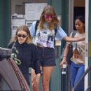 Taylor Swift and Gigi Hadid – Leaves her apartment in New York City