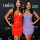 Nikki and Brie Bella – WWE Evolution in New York - 454 x 743
