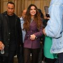 Selena Gomez -Leaving Z100 after promoting her latest single in New York