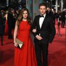 Eddie Redmayne- February 14, 2016- EE British Academy Film Awards - Red Carpet Arrivals - 446 x 600