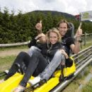 Alena Gerber and Sven Hannawald