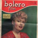 Shelley Winters - Bolero Film Magazine Cover [Italy] (18 May 1952)
