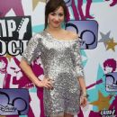Demi Lovato arrives at the European TV premiere of 'Camp Rock' at The Royal Festival Hall on September 10, 2008 in London, England