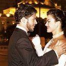 Ana Paula Arósio and Erik Marmo