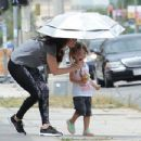 Megan Fox spotted after taking her children Noah & Bodhi to a baby class in Los Angeles, California on August 6, 2015
