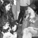 Sara Dylan and Pattie Boyd