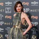 Nieves Alvarez- Goya Cinema Awards 2019 - Red Carpet - 454 x 303