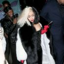 Cardi B – Arriving to a Halloween party in New York City