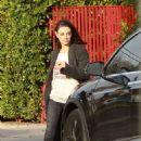 Mila Kunis – Leaving her house in Los Angeles