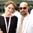Stanley Tucci and Felicity Blunt - 454 x 429