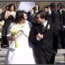 Jamia Nestor and Frank Iero, Wedding Day