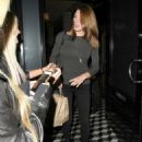 Celebrities dine out at Craig's Restaurant on May 27, 2015 in West Hollywood, California
