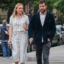 Actress Diane Kruger and Joshua Jackson spotted out for an evening stroll in New York City, New York on June 8, 2015 - 450 x 600
