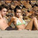 Raquel Del Rosario and Fernando Alonso
