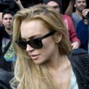 Lindsay Lohan was spotted out in Los Feliz, Friday January 7 2011