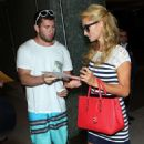 Paris Hilton At Lax Airport